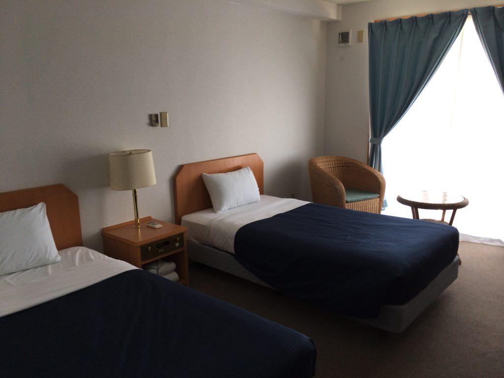「ケラマビーチホテル」のツインルーム