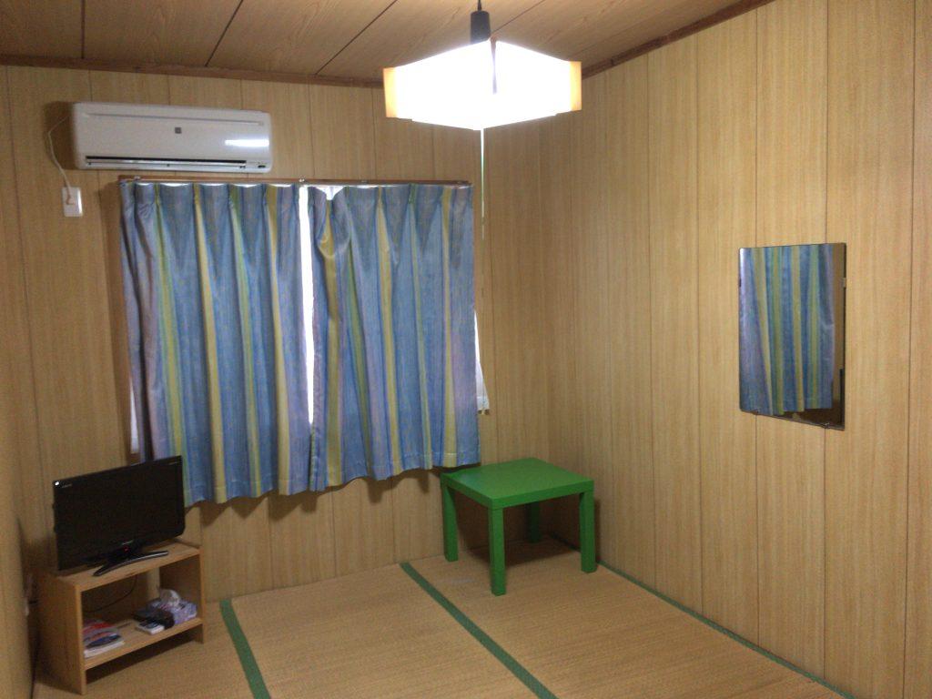 「宝生」の客室