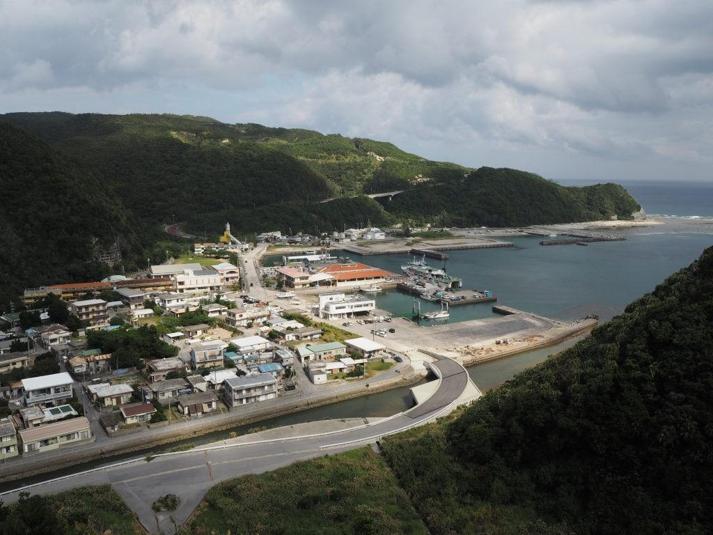 港の見える丘展望台からの景色