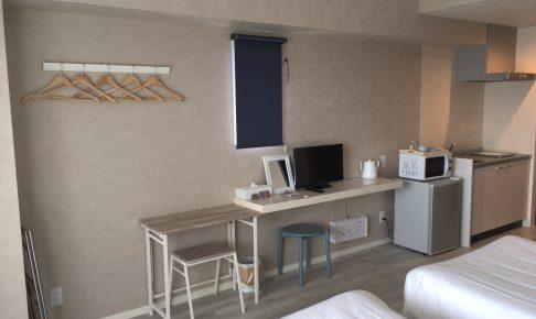 「HOTEL385」のツインルーム