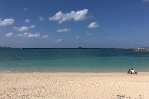 のどかな雰囲気のパイナガマビーチ