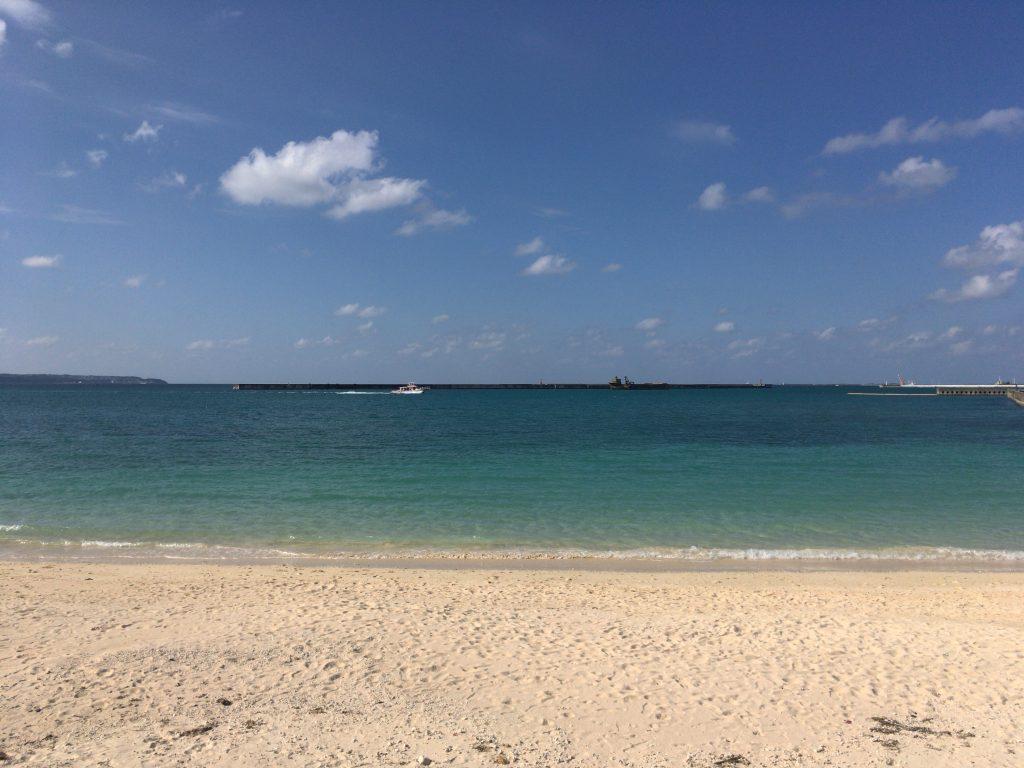 行けば行くほど好きになる不思議なビーチである