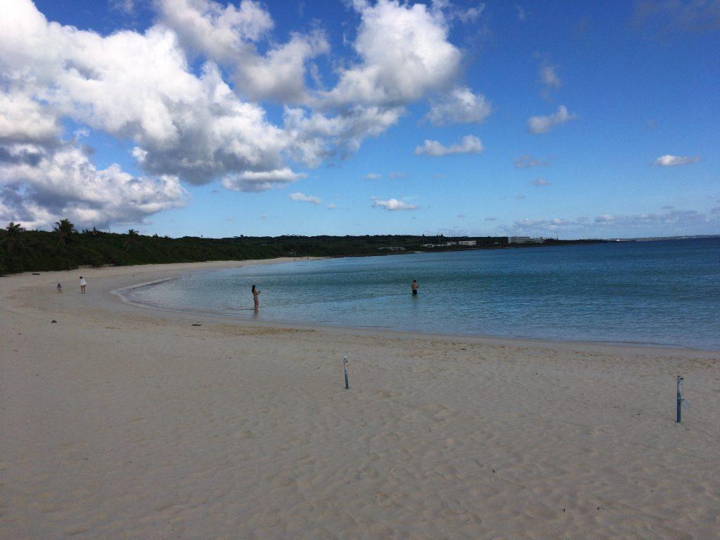 渡口の浜。伊良部島を代表するビーチだ