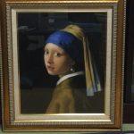 『真珠の耳飾りの少女』の複製画